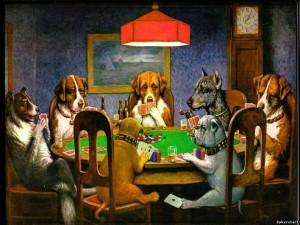 v poker