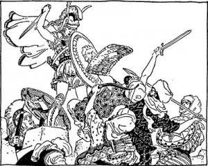 Александр и маллы
