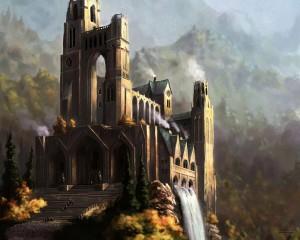 замок колдунов